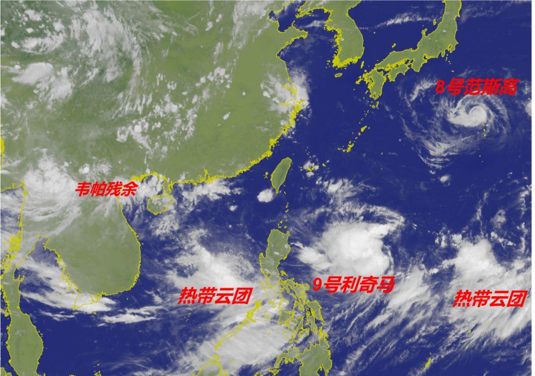 台风组团来了!直奔浙江?宁波接下来的天气…