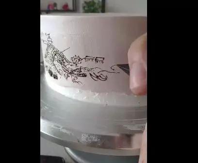 <b>山西小伙8寸蛋糕上绘出《清明上河图》,网友:舍不得吃咋办?</b>
