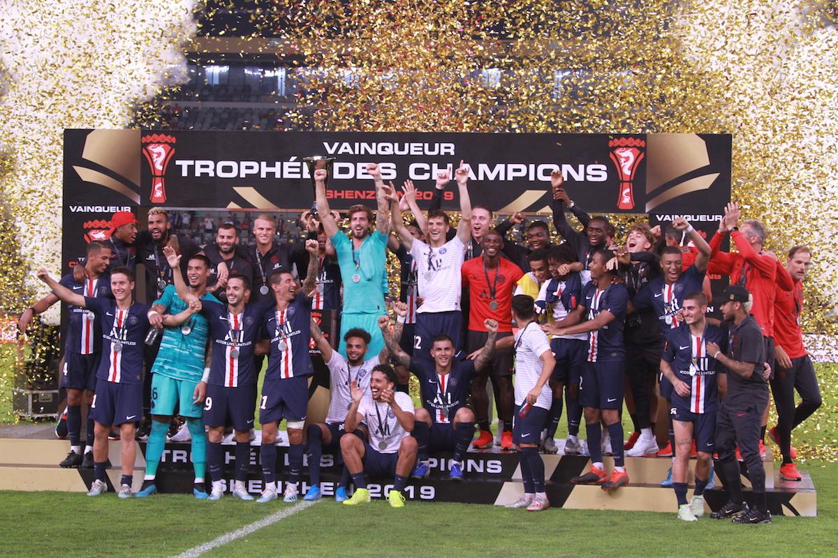 赞助法国超级杯,金荣中国发力体育营销