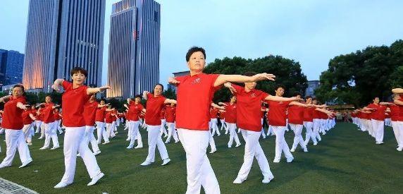 """""""全民健身日""""活动丰富多彩 科学健身助力健康中国"""