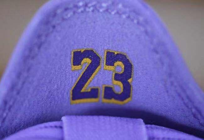内嵌紫金号码!詹姆斯 Nike LeBron 16 Low 全新紫罗兰配色即将登场!