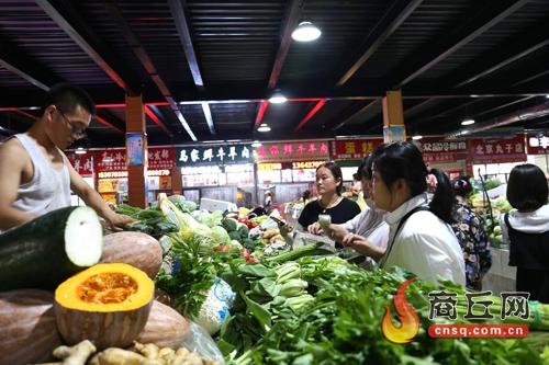 """睢阳区""""天眼""""助力农贸市场面貌改善"""