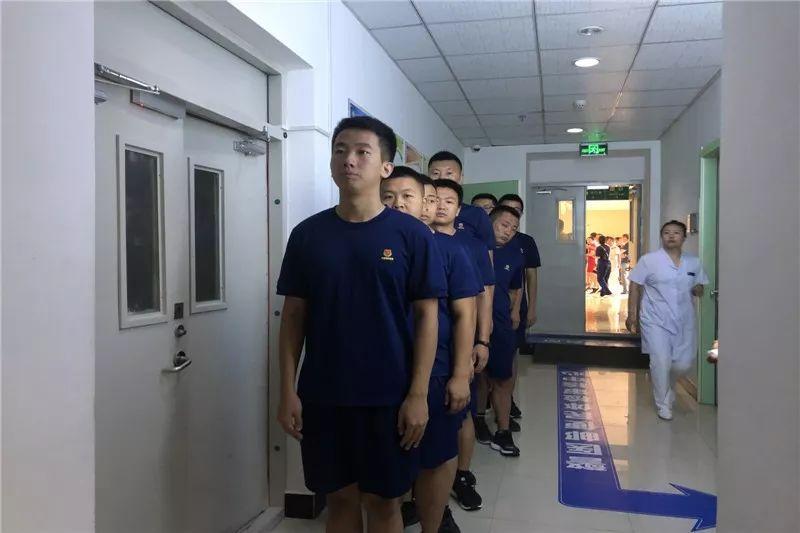 【各地动态】 铁西大队组织全体指战员体检 关爱指战员们身体健康