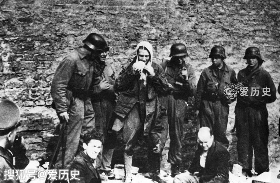 <b>悲壮的华沙犹太区起义 被德军逼出避难所的男女 最终全部处决</b>