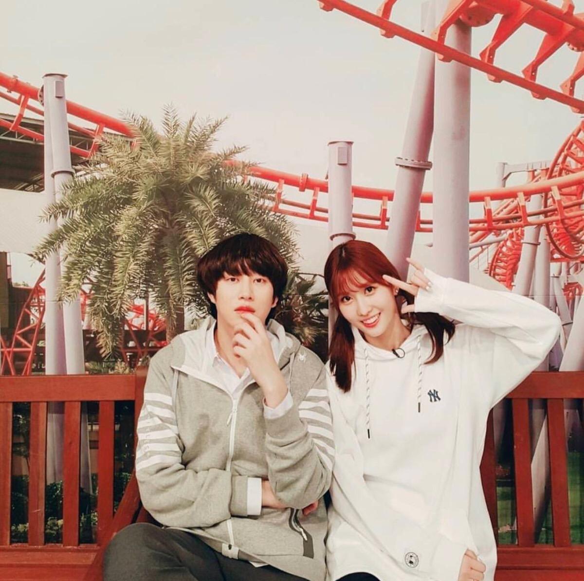 金希澈与Momo被曝已恋爱两年