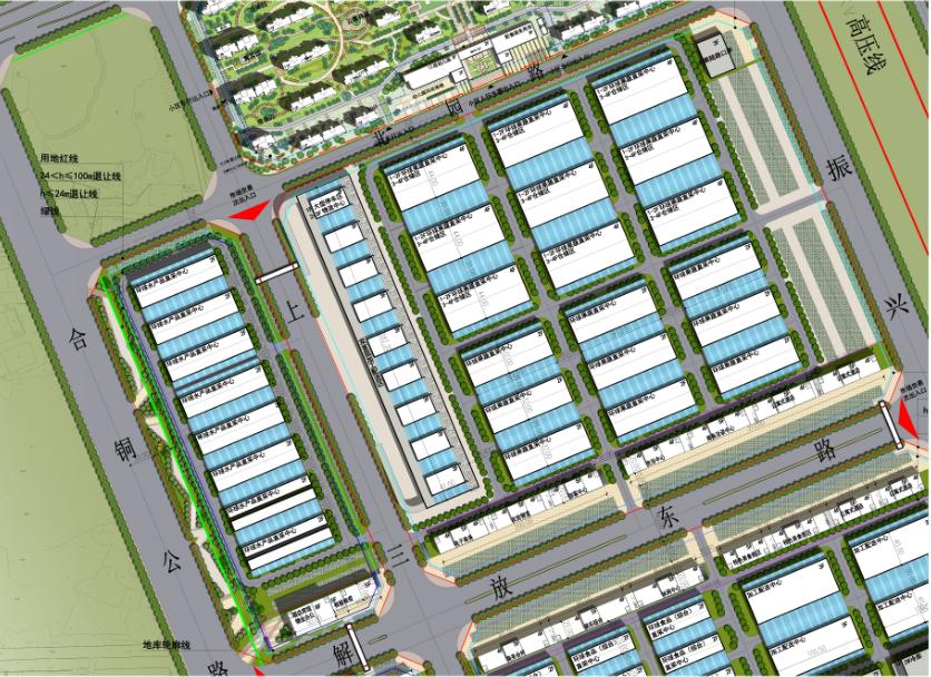 <b>合肥百大肥西农产品物流园项目市场交易、住宅区批前公示!</b>
