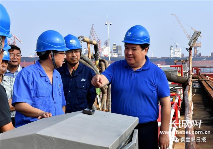 张瑞书就海洋经济创新发展示范项目进行专题调研