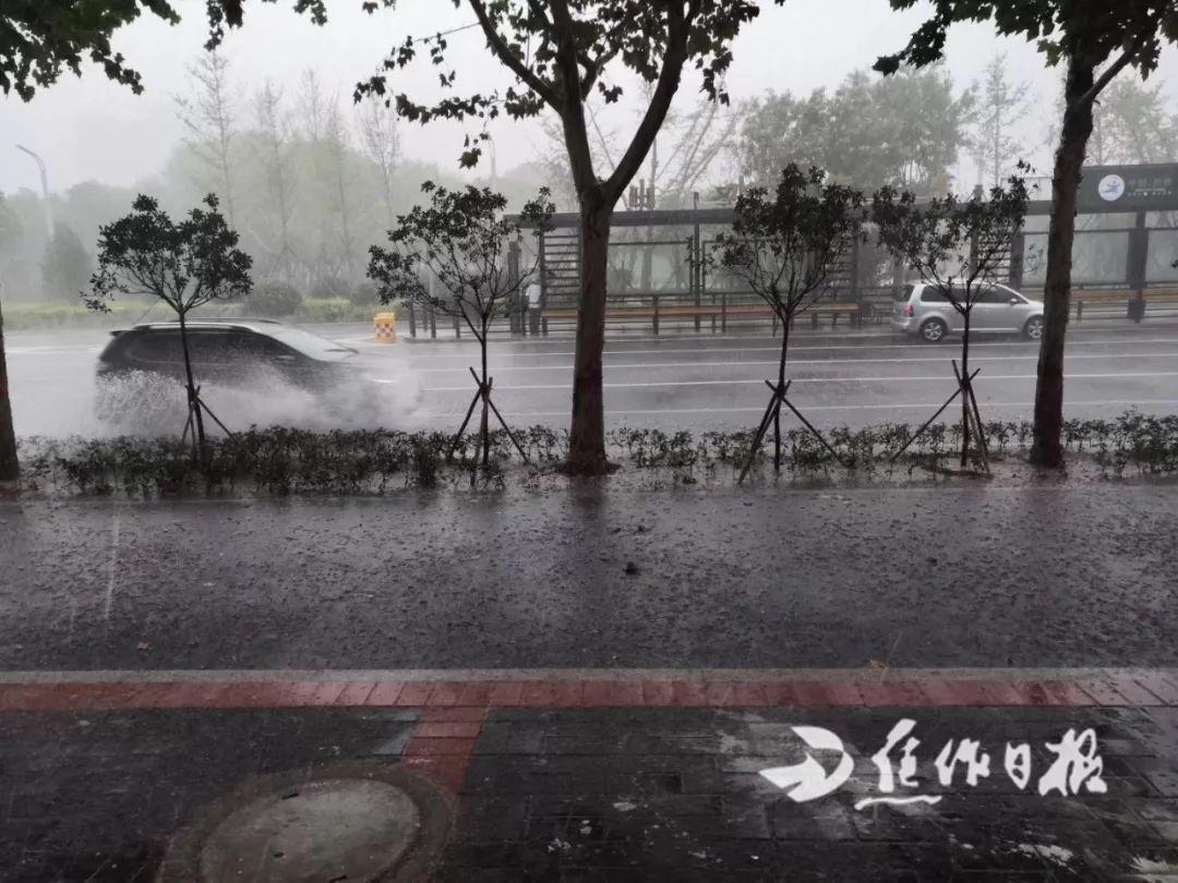 朋友圈已淹!瓢泼大雨?倾盆大雨?焦作这场雨怎么形容都不为过!