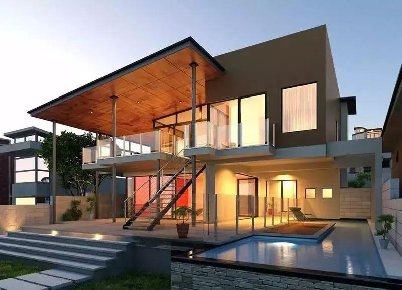 农村平顶别墅设计图简单