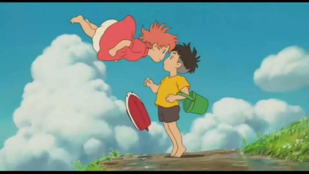 一起锁定这部宫崎骏的作品吧,波妞和宗介,影院见!图片