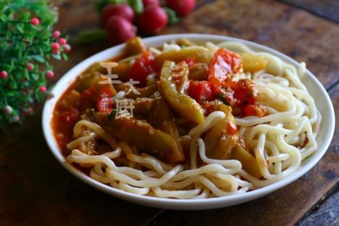 夏天没胃口?懒人版的茄子面鲜香顺滑又爽口,做法简单又方便