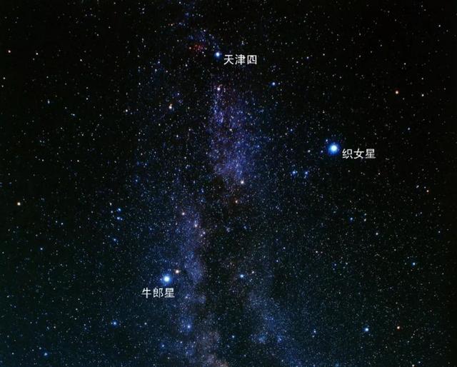 如何在众星中找到牛郎星和织女星