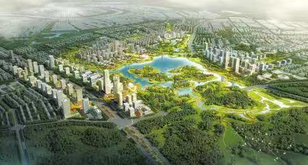 龙泉驿东安新城规划图