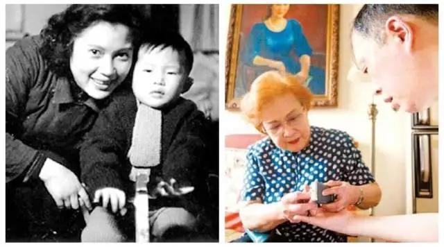 秦怡與兒子金捷的故事,世上隻有媽媽好