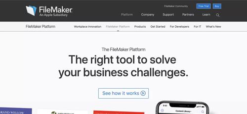 或许想要再现当年的辉煌 苹果子公司FileMaker恢复其原始名称