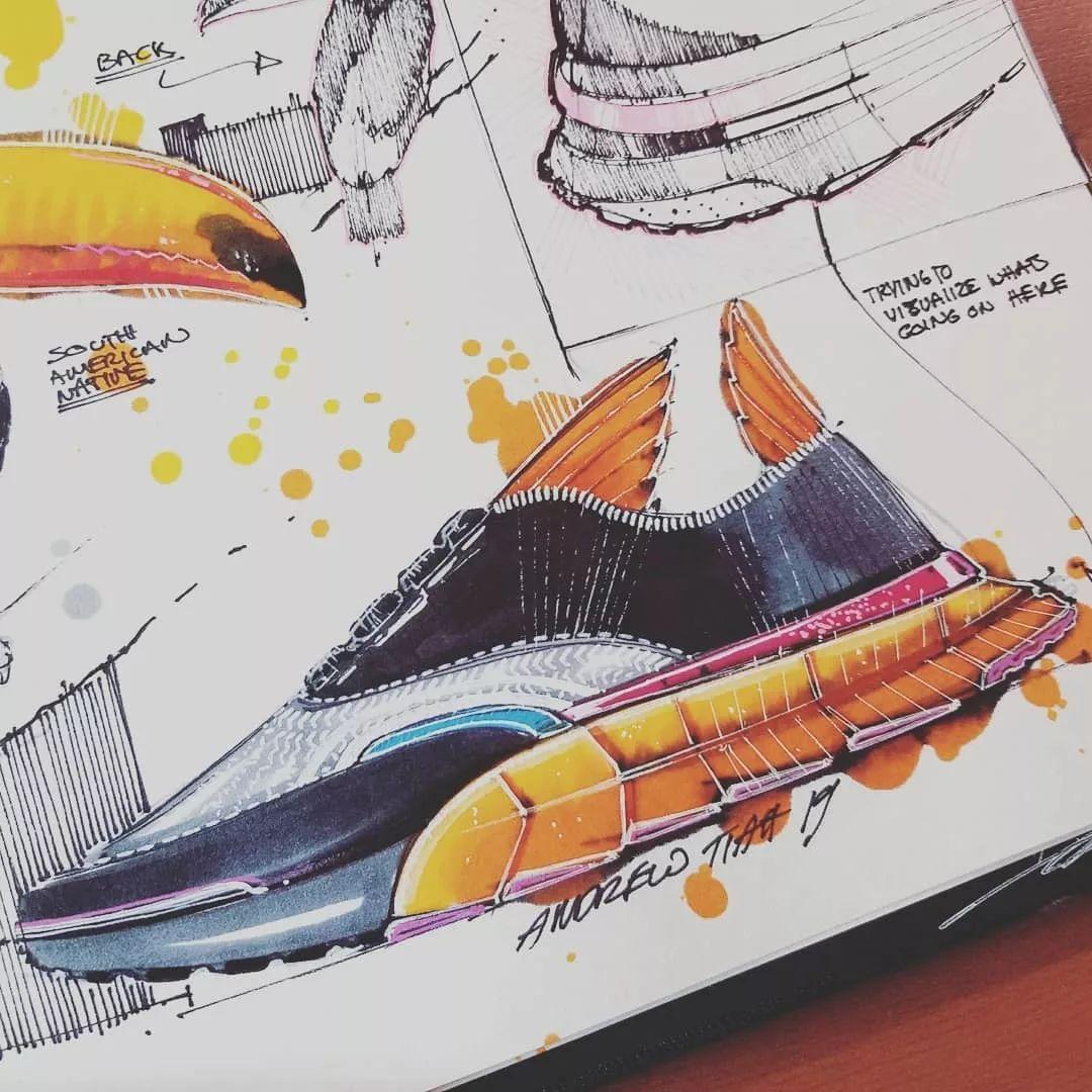 远川绘 手绘素材第244天 仿生设计临摹素材