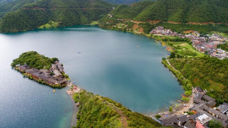 单日游客数达1.4万人次,丽江泸沽湖景区发布游客承载预警