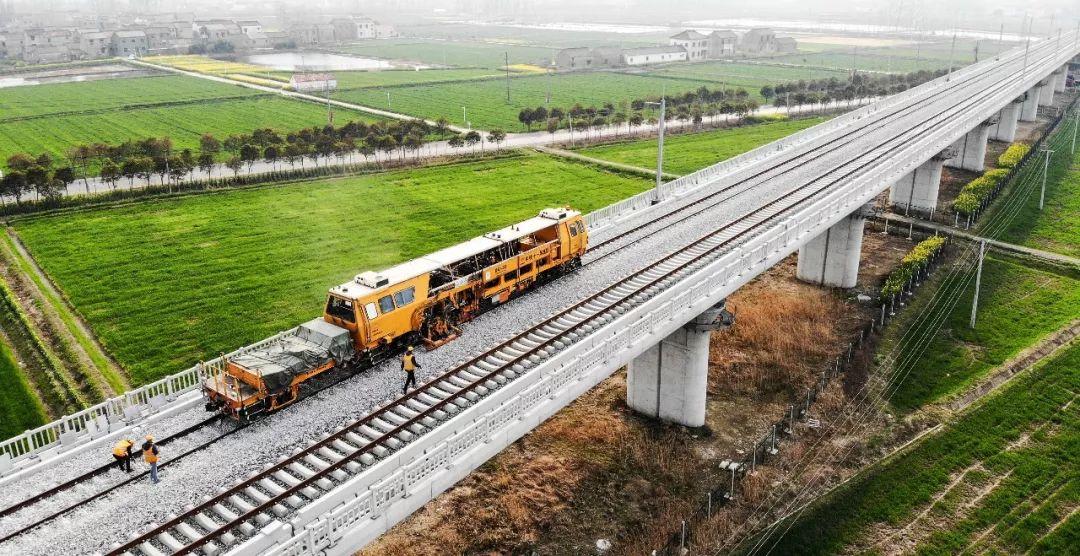 【高质量发展】改写历史!连镇铁路连淮段、徐宿淮盐铁路将于年底开通!