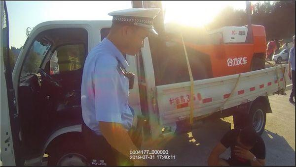 """""""我害怕,我不想死""""湖南一男子开货车上高速遇交警后嚎啕大哭"""