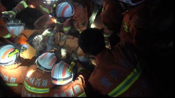 贵州金沙房屋倒塌2名人员被埋压 消防火速营救