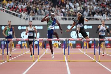 46秒78,400米栏世界纪录已尘封27年,今年三大名将有望突破
