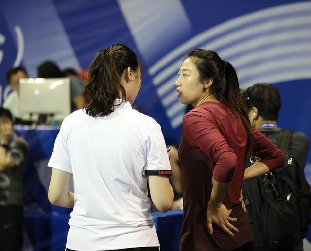 七夕还在训练吗?球迷:刘晏含与沈琼很配!郎平或带她参加世界杯