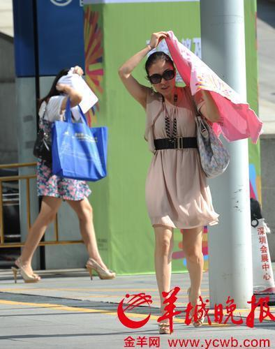 广东雷雨将至,炎热退散!这个周末高温天气或略有缓解