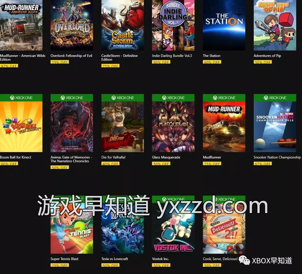 8月6-12日Xbox金会员游戏促销 含《极品飞车》系列《体感碰碰球》