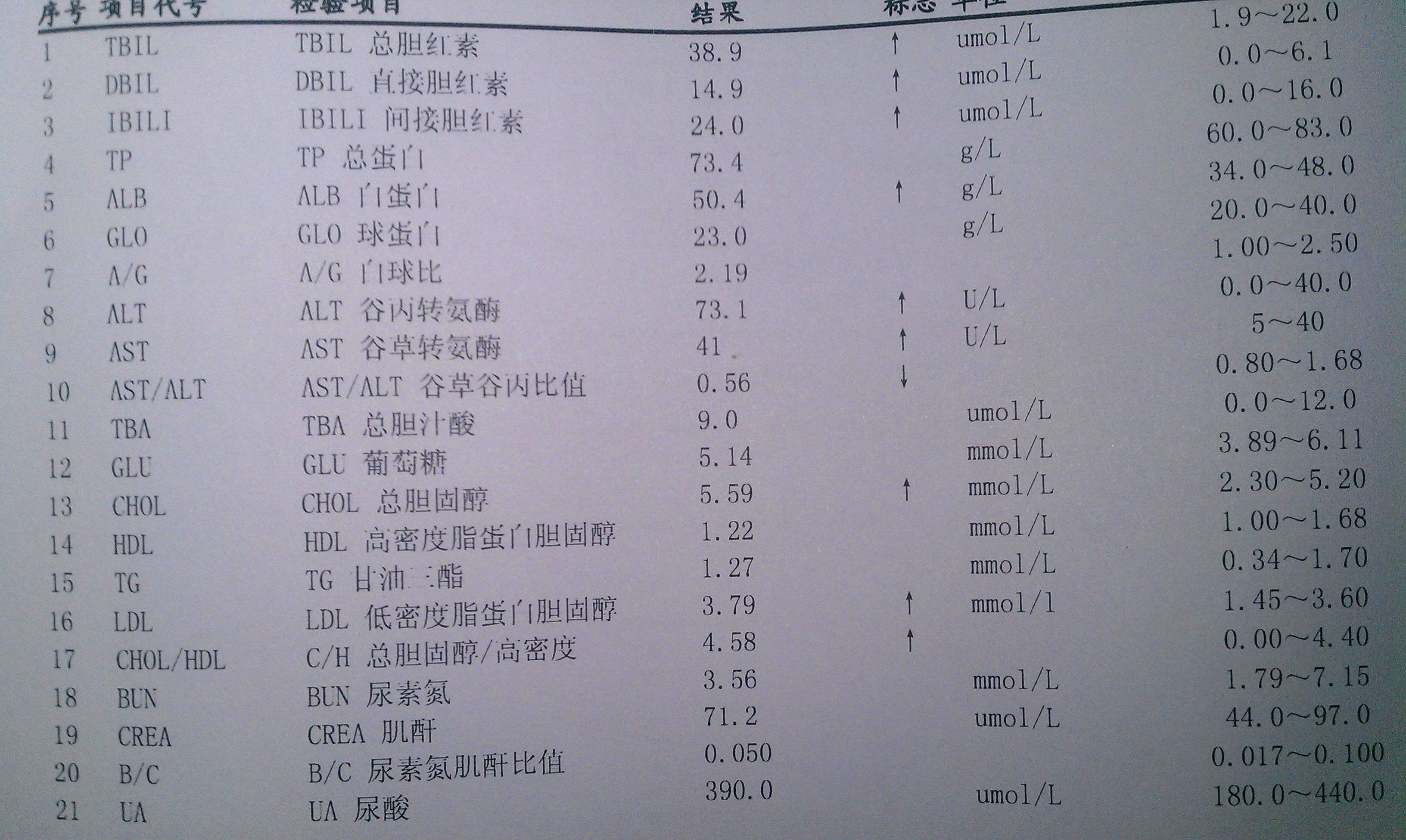 乙肝大三阳症状与慢性肝炎程度正相关