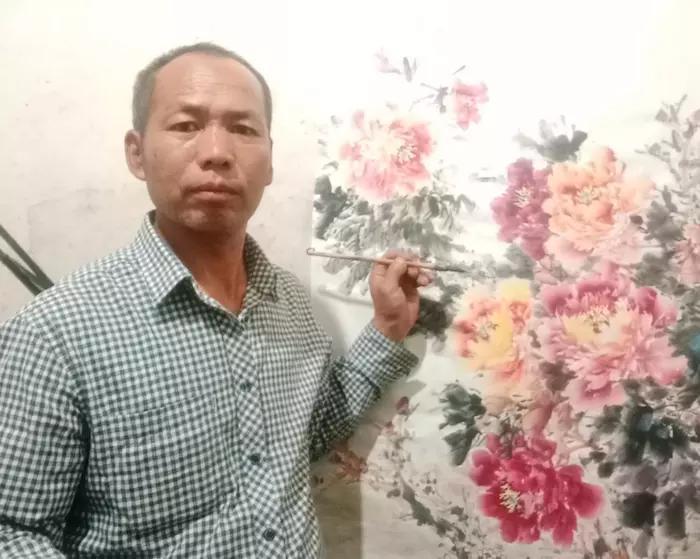 滕同军国画作品赏析:精神领域的独特创造