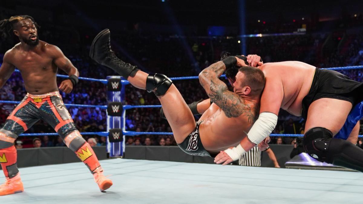 WWE摔小辉新闻毒蛇兰迪奥顿在夏日狂潮赛前惨遭偷袭RKO