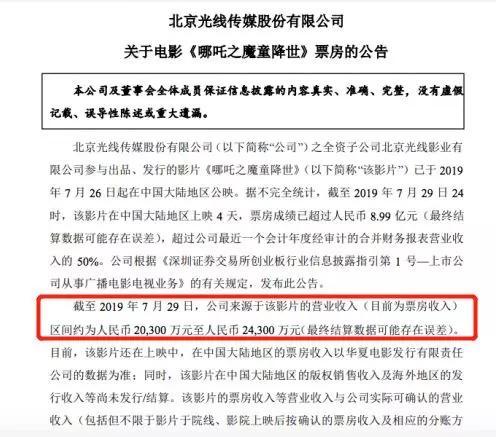 <b>《哪吒》爆红,光线翻身要做中国的迪士尼?</b>