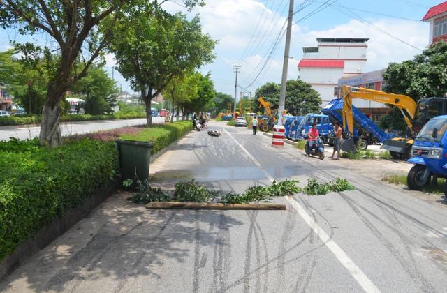 十几辆电动车、摩托车相继在玉北大道摔倒,多人受伤,什么情况?