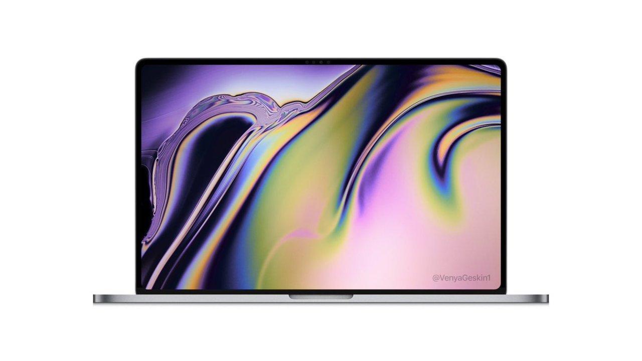 16英寸MacBook性能曝光!一流的屏幕,极高的屏占比