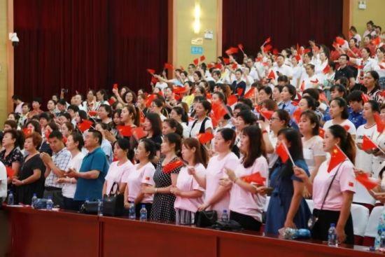 """哈尔滨市宾县举办""""巾帼心向党 · 花开新时代""""诗歌朗诵会"""