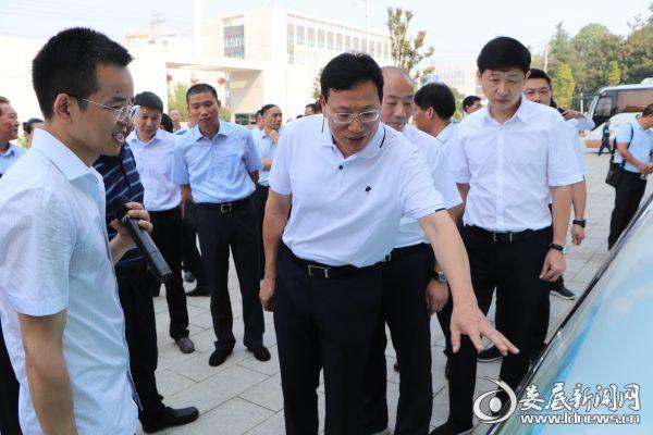 华学健:以金融服务乡村振兴为抓手 促进全市乡村产业兴旺