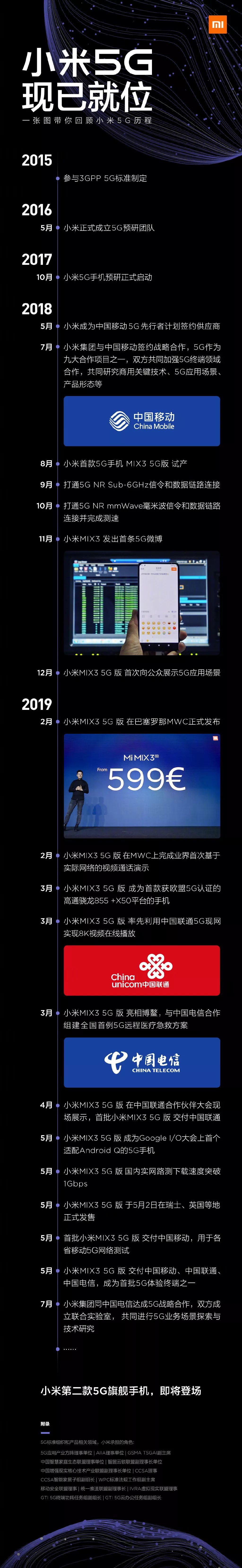 资讯 小米5G手机即将发布将搭载骁龙855 Plus+45W快充