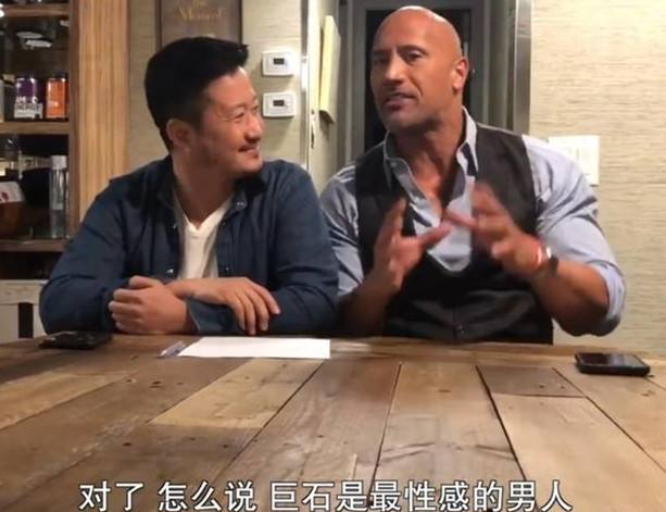 吴京与史泰龙强森范迪塞尔三大动作巨星同框,最期待他和谁合作?