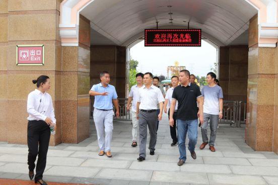 郑州市文化广电和旅游局督导中牟县旅游行业环境综合整治工作