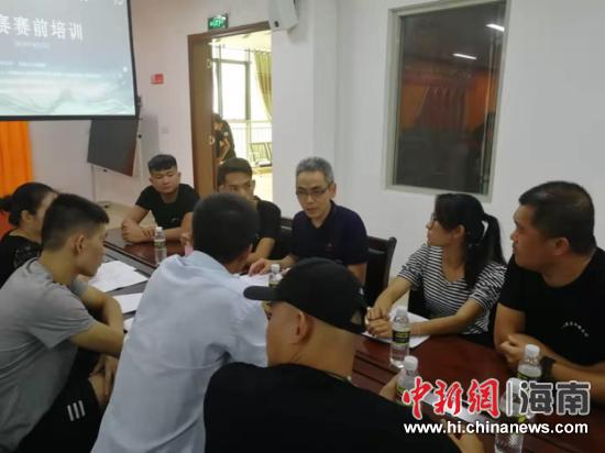 2019第四届澄迈县创业大赛决赛赛前培训举行