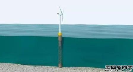 惠生海工发布深海浮力塔风电解决方案
