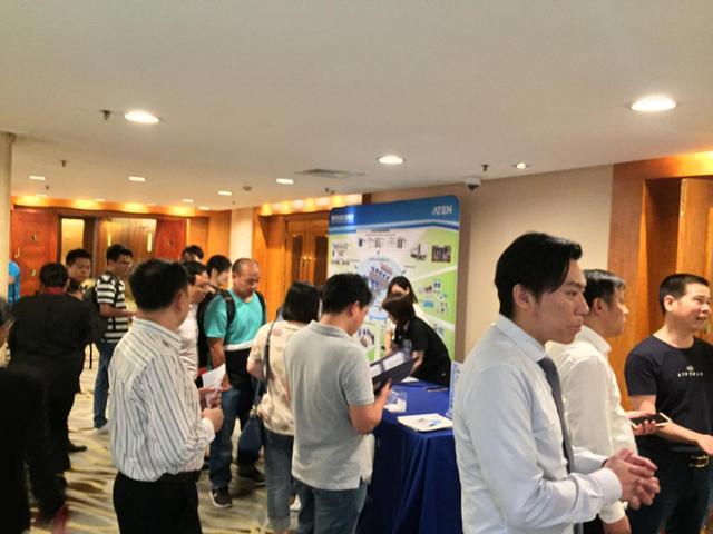 同舟远航 逆风飞扬 ATEN宏正华东区域IT合作伙伴交流会成功举办