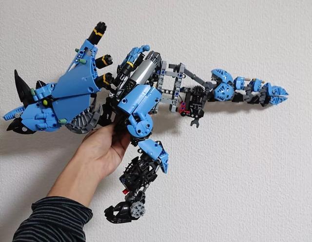 lego乐高moc作品欣赏 电镀车 动物 机甲 总一款你喜欢