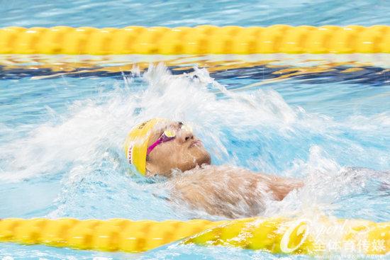 游泳世界杯200仰澳大利亚包揽冠亚军 徐嘉余仅获铜牌