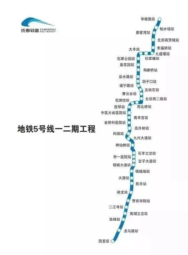地铁新动态!5号线一二期第二批12个车站正式移交!