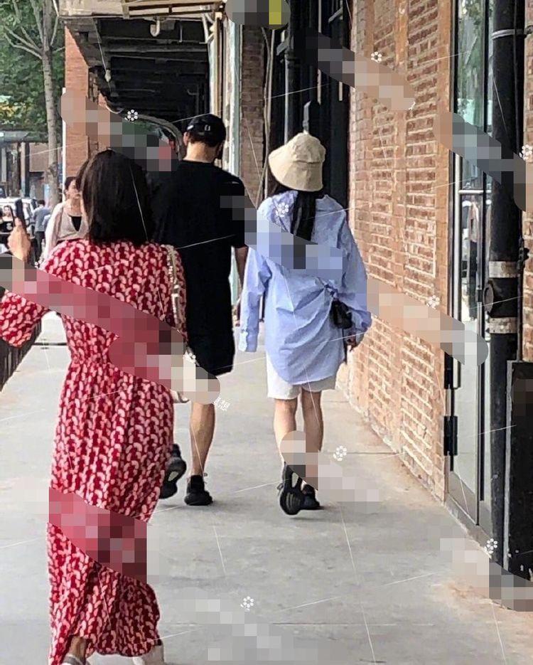 魏大勋和杨幂穿情侣鞋逛街 魏大勋回应 只是和朋友逛个街