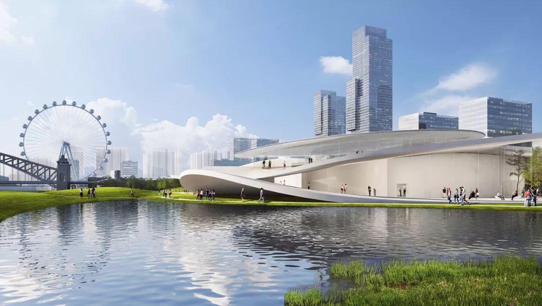 妹岛和世最新 昆山博物馆(美术馆)概念方案正式亮相!