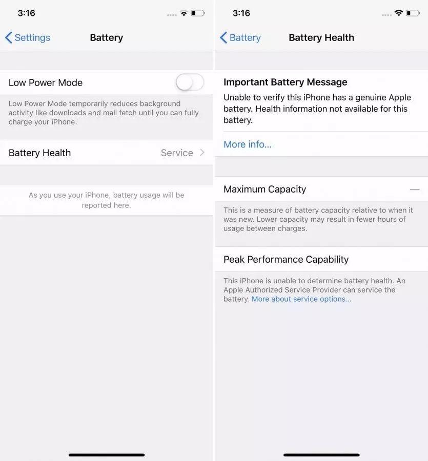 苹果采取新措施阻挠第三方换iPhone电池,但好像没什么影响!