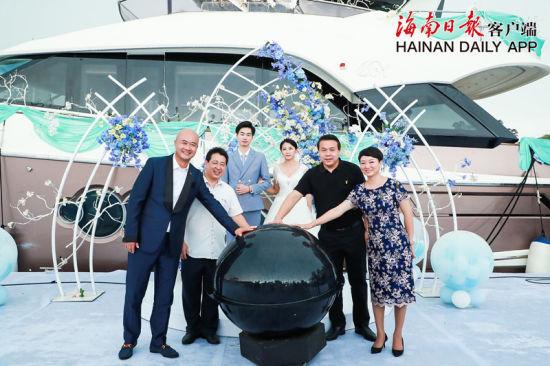 三亚发布海上游艇婚礼产品丰富婚庆产业