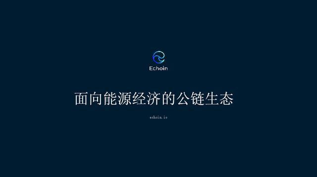 Echoin CEO郑嘉文:Echoin如何脱颖而出,构建能源生态?